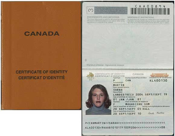 Canada Refugee Travel Document Processing Time